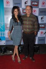 Tena Desae, Anupam Kher at the Premiere of Sharafat Gayi Tel Lene in Fun, Mumbai on 15th Jan 2015 (153)_54b8ebef87a14.JPG