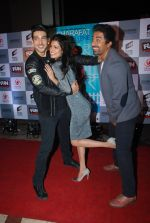 Zayed Khan, Tena Desae, Rannvijay Singh at the Premiere of Sharafat Gayi Tel Lene in Fun, Mumbai on 15th Jan 2015 (213)_54b8ebf5d12c1.JPG