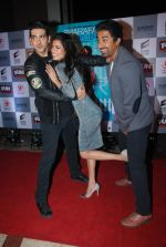 Zayed Khan, Tena Desae, Rannvijay Singh  at the Premiere of Sharafat Gayi Tel Lene in Fun, Mumbai on 15th Jan 2015 (105)_54b8ebf243ff2.JPG
