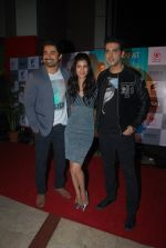 Zayed Khan, Tena Desae, Rannvijay Singh at the Premiere of Sharafat Gayi Tel Lene in Fun, Mumbai on 15th Jan 2015 (207)_54b8ebf365e3f.JPG
