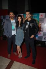 Zayed Khan, Tena Desae, Rannvijay Singh at the Premiere of Sharafat Gayi Tel Lene in Fun, Mumbai on 15th Jan 2015 (210)_54b8ebf48a804.JPG