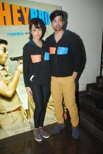 Maninder Singh, Nupur Sharma at Hey bro promotional event in Thane, Mumbai on 17th Jan 2015 (14)_54bca540762fd.JPG