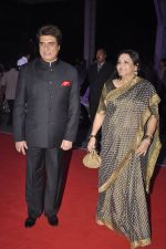 Raj Babbar at Kush Wedding Reception in Sahara Star, Mumbai on 19th Jan 2015 (40)_54be2e23e4407.JPG