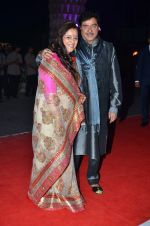 shatrughan sinha, Poonam Sinha at Kush Wedding Reception in Sahara Star, Mumbai on 19th Jan 2015 (229)_54be174784476.JPG