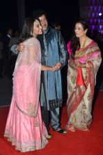 shatrughan sinha, Poonam Sinha, Sonakshi Sinha at Kush Wedding Reception in Sahara Star, Mumbai on 19th Jan 2015 (226)_54be174c2d3a1.JPG