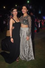 Akshara Hassan, Shruti Hassan at Shamitabh music launch in Taj Land_s End, Mumbai on 20th Jan 2015 (142)_54bf6356016a6.JPG
