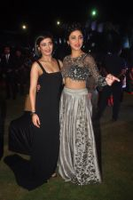 Akshara Hassan, Shruti Hassan at Shamitabh music launch in Taj Land_s End, Mumbai on 20th Jan 2015 (145)_54bf6357689d8.JPG