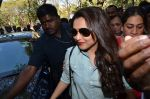 Rani Mukherjee at Mumbai university in Santacruz, Mumbai on 20th Jan 2015 (19)_54bf545f6adf4.JPG