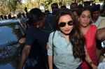 Rani Mukherjee at Mumbai university in Santacruz, Mumbai on 20th Jan 2015 (20)_54bf5461a9b9c.JPG