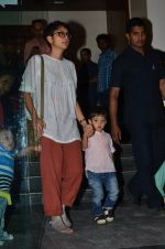 Kiran Rao snapped with Azad Rao in Worli, Mumbai on 22nd Jan 2015 (2)_54c209ba9ea4c.JPG