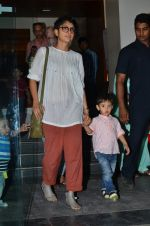 Kiran Rao snapped with Azad Rao in Worli, Mumbai on 22nd Jan 2015 (3)_54c209bda285f.JPG