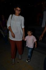 Kiran Rao snapped with Azad Rao in Worli, Mumbai on 22nd Jan 2015 (9)_54c209c85d9de.JPG