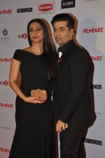 Tabu, Karan Johar at Filmfare Nominations bash in Hyatt Regency, Mumbai on 22nd Jan 2015 (189)_54c242b3b344d.JPG