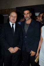 Akshay Kumar, Anupam Kher at Baby screening in Liberty, Mumbai on 23rd Jan 2015 (82)_54c4b32aadf67.JPG