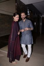 Kareena Kapoor, Saif Ali Khan at Soha Ali Khan_s mehendi in Khar on 23rd Jan 2015 (74)_54c499c36cf09.JPG