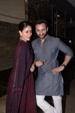 Kareena Kapoor, Saif Ali Khan at Soha Ali Khan_s mehendi in Khar on 23rd Jan 2015 (80)_54c499c6c213b.JPG