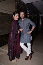 Kareena Kapoor, Saif Ali Khan at Soha Ali Khan_s mehendi in Khar on 23rd Jan 2015 (82)_54c499c7f063f.JPG
