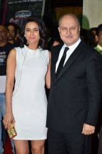 Madhurima Tuli, Anupam Kher at Baby screening in Liberty, Mumbai on 23rd Jan 2015 (21)_54c4b3bfab589.JPG