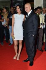 Madhurima Tuli, Anupam Kher at Baby screening in Liberty, Mumbai on 23rd Jan 2015 (22)_54c4b3822d57d.JPG