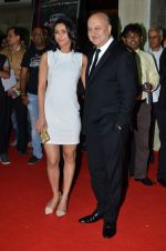 Madhurima Tuli, Anupam Kher at Baby screening in Liberty, Mumbai on 23rd Jan 2015 (23)_54c4b3c13578e.JPG