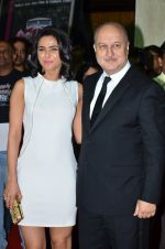 Madhurima Tuli, Anupam Kher at Baby screening in Liberty, Mumbai on 23rd Jan 2015 (25)_54c4b383b0711.JPG