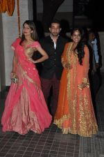 Amrita Arora, Arpita Khan at Soha Ali Khan and Kunal Khemu_s wedding Reception in Mumbai on 25th Jan 2015 (332)_54c61ab719349.JPG