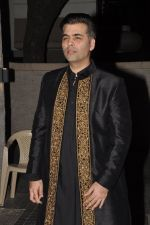 Karan Johar at Soha Ali Khan and Kunal Khemu_s wedding Reception in Mumbai on 25th Jan 2015 (280)_54c61b45a409b.JPG