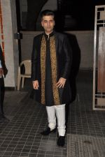 Karan Johar at Soha Ali Khan and Kunal Khemu_s wedding Reception in Mumbai on 25th Jan 2015 (282)_54c61b477849b.JPG