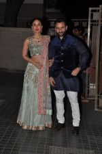 Kareena Kapoor, Saif Ali Khan at Soha Ali Khan and Kunal Khemu_s wedding Reception in Mumbai on 25th Jan 2015 (306)_54c61b05c85d2.JPG