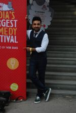 Vir Das at India_s Largest Comedy Festival hosted by Vir Das in St Andrews on 26th Jan 2015 (1)_54c728d30d068.JPG