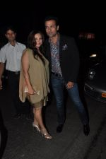 Rohit Roy, Manasi Joshi Roy at Sanjay Leela Bhansali_s Padma Shri honour dinner in Mumbai on 27th Jan 2015 (208)_54c8871721b51.JPG