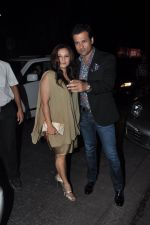 Rohit Roy, Manasi Joshi Roy at Sanjay Leela Bhansali_s Padma Shri honour dinner in Mumbai on 27th Jan 2015 (210)_54c887183b7aa.JPG