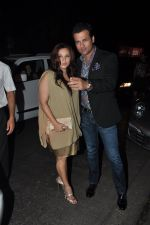 Rohit Roy, Manasi Joshi Roy at Sanjay Leela Bhansali_s Padma Shri honour dinner in Mumbai on 27th Jan 2015 (212)_54c887191432d.JPG