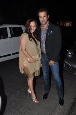 Rohit Roy, Manasi Joshi Roy at Sanjay Leela Bhansali_s Padma Shri honour dinner in Mumbai on 27th Jan 2015 (216)_54c8871acb9e9.JPG