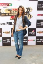 Asha Negi at Khatron Ke Khiladi press meet in Mumbai on 29th Jan 2015 (325)_54cb45ff3ab0a.jpg