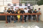 Rohit Shetty, Rashmi Desai, Sagarika Ghatge, Riddhi Dogra, Rohit Shetty, Sana Khan, Asha Negi, Siddharth, Hussain, Aashish,Meiyang, Harshad at Khatron Ke Khiladi press meet in Mumbai on 29th Jan 20 (226)_54cb454de9ce5.jpg