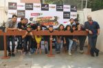 Rohit Shetty, Rashmi Desai, Sagarika Ghatge, Riddhi Dogra, Rohit Shetty, Sana Khan, Asha Negi, Siddharth, Hussain, Aashish,Meiyang, Harshad at Khatron Ke Khiladi press meet in Mumbai on 29th Jan 20 (254)_54cb45550d046.jpg