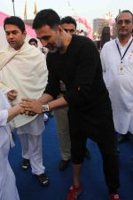 Akshay Kumar flags off Bramhakumari Sakhi Minithon 2015 in Mumbai on 1st Feb 2015 (1)_54cf211bd7d71.JPG