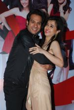 Suzanna Mukherjee, Karan Mehra at Badmashiyan music launch in Bandra, Mumbai on 4th Feb 2015 (58)_54d328935effb.JPG