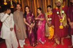 Uddhav Thackeray at Rahul Thackeray_s wedding ceremony in Mumbai on 9th Feb 2015 (42)_54d9adb8a3439.JPG