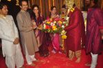 Uddhav Thackeray at Rahul Thackeray_s wedding ceremony in Mumbai on 9th Feb 2015 (39)_54d9adb51b758.JPG