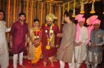 Uddhav Thackeray at Rahul Thackeray_s wedding ceremony in Mumbai on 9th Feb 2015 (46)_54d9adbf27678.JPG