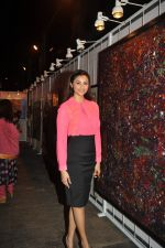 Daisy Shah at 3rd Annual Charity Fundraiser Art Exhibition by Cuddles Foundation in support for children suffering from Cancer in Mumbai on 11th Feb 2015 (39)_54dc66c1305c7.JPG