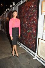 Daisy Shah at 3rd Annual Charity Fundraiser Art Exhibition by Cuddles Foundation in support for children suffering from Cancer in Mumbai on 11th Feb 2015 (41)_54dc66c59e685.JPG