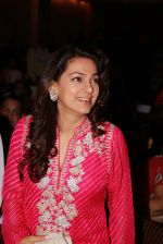 Juhi Chawla at the launch of RUBARU fusion show in Mumbai on 11th Feb 2015 (2)_54dc64c9bf8a1.jpg