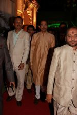 Uddhav Thackeray at Designer Manali Jagtap_s Wedding Reception in Mumbai on 11th Feb 2015 (100)_54dc63c004c59.jpg