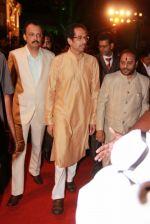Uddhav Thackeray at Designer Manali Jagtap_s Wedding Reception in Mumbai on 11th Feb 2015 (102)_54dc63c1ee061.jpg