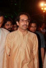 Uddhav Thackeray at Designer Manali Jagtap_s Wedding Reception in Mumbai on 11th Feb 2015 (103)_54dc63c33cb70.jpg