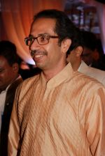 Uddhav Thackeray at Designer Manali Jagtap_s Wedding Reception in Mumbai on 11th Feb 2015 (84)_54dc63d9ad758.jpg