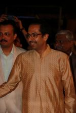 Uddhav Thackeray at Designer Manali Jagtap_s Wedding Reception in Mumbai on 11th Feb 2015 (90)_54dc63b49b7ea.jpg